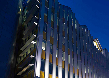 Monsoon, London. Lighting Consultant: NDYLIGHT Architect: Allford Hall Monaghan Morris Architects